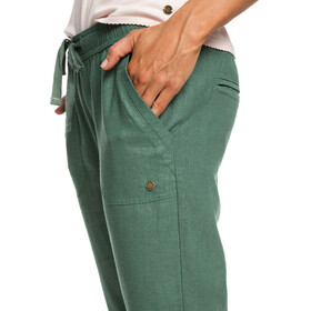 Roxy Symphony Lover Pants Women Duck Green